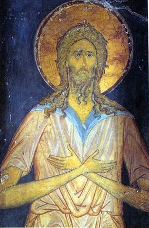 Алексей Человек Божий. Фреска алтарной преграды - 1481 г