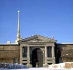 Петропавловская крепость Невские ворота