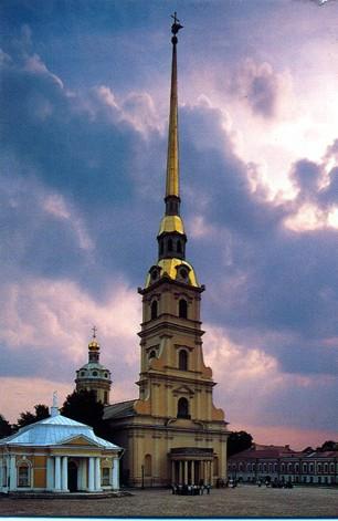 Петропавловская крепость - Петропавловский Собор
